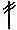 Вязание крючком. Столбик с двумя накидами.