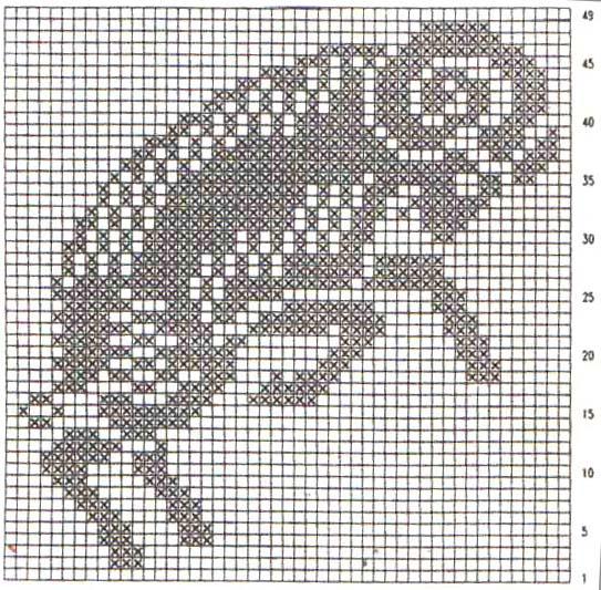 Схема узлов для вязания лески