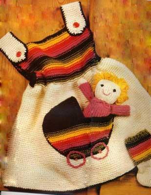 Сарафан с куколкой