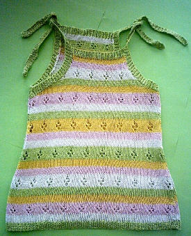 Как связать детский сарафан спицами » Петля - вязание на все