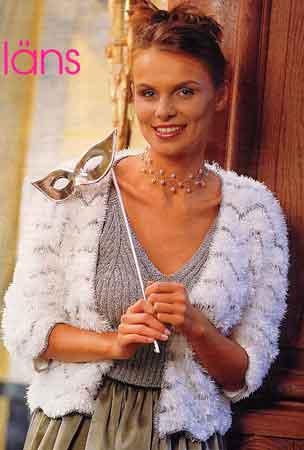 Схема вязания женской кофты.