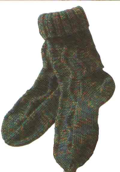 Вязание носков. Детские