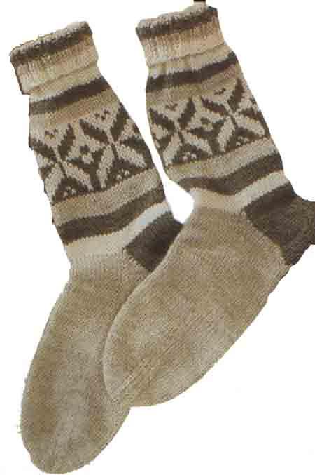 Для вязания изделия Женские жаккардовые носки вам потребуется: пряжа...